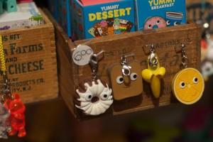 Woodstock toys - keychains