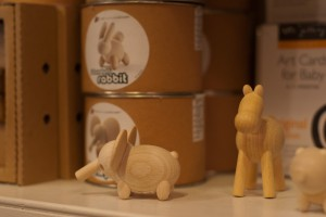 Woodstock toys - wooden animals