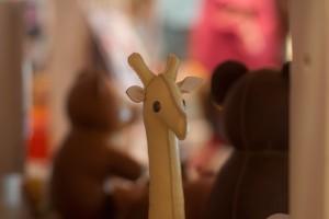 Woodstock toys - giraffe