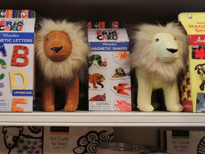 Woodstock toys - lions