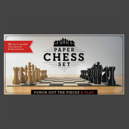 Paper Chess Set - Box