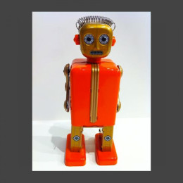 Mechanical Wind Up Tin Robot